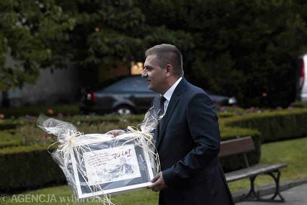 29.09.2013 Gdansk , 70 urodziny Lecha Walesy Nz.minister zdrowa Bartosz Arlukowicz  fot. Rafal Malko/Agencja Gazeta