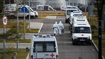 Koronawirus. Przepełniona kostnica w Rosji. Zwłoki leżą na korytarzu