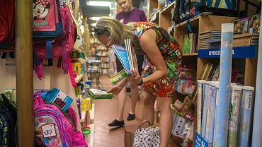 Przygotowanie do roku szkolnego - zakupy wyprawki w jednej z bydgoskich księgarni