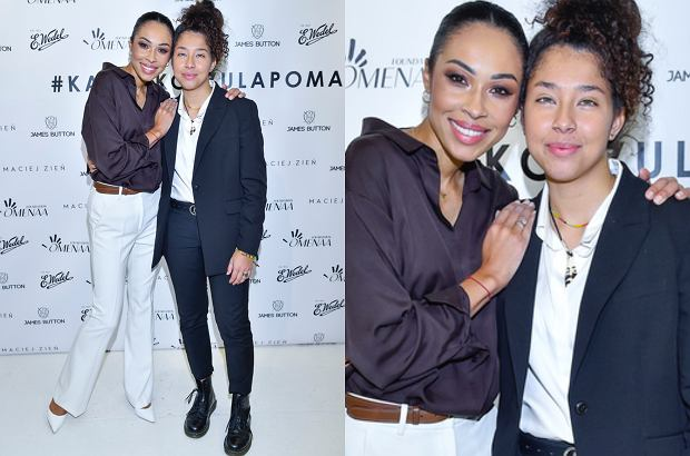 Omenaa Mensach z córką Vanessą