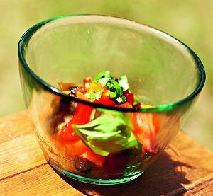 Szybka sałatka pomidorowa