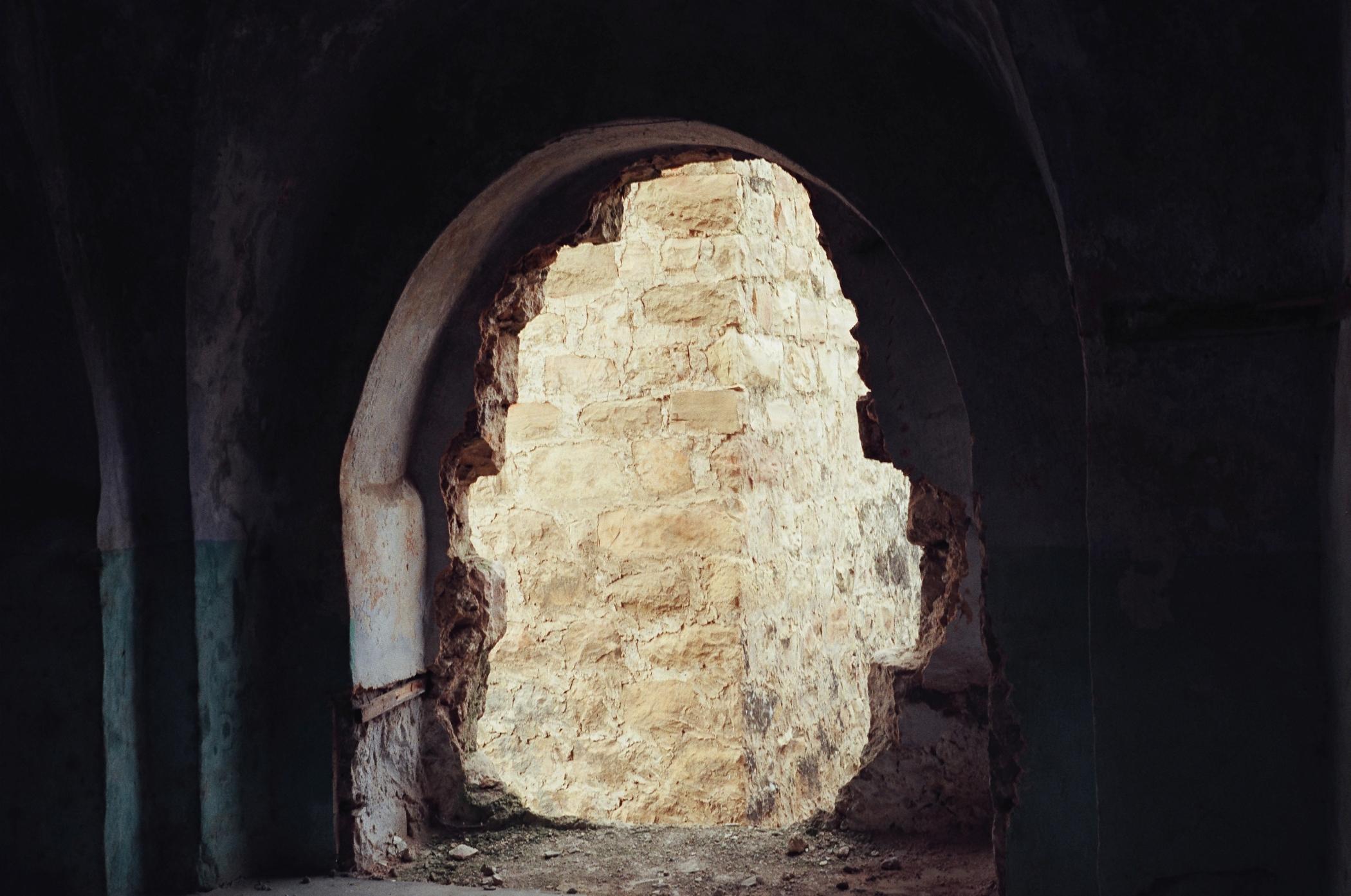 Ruiny (fot. Jehuda Szaul)