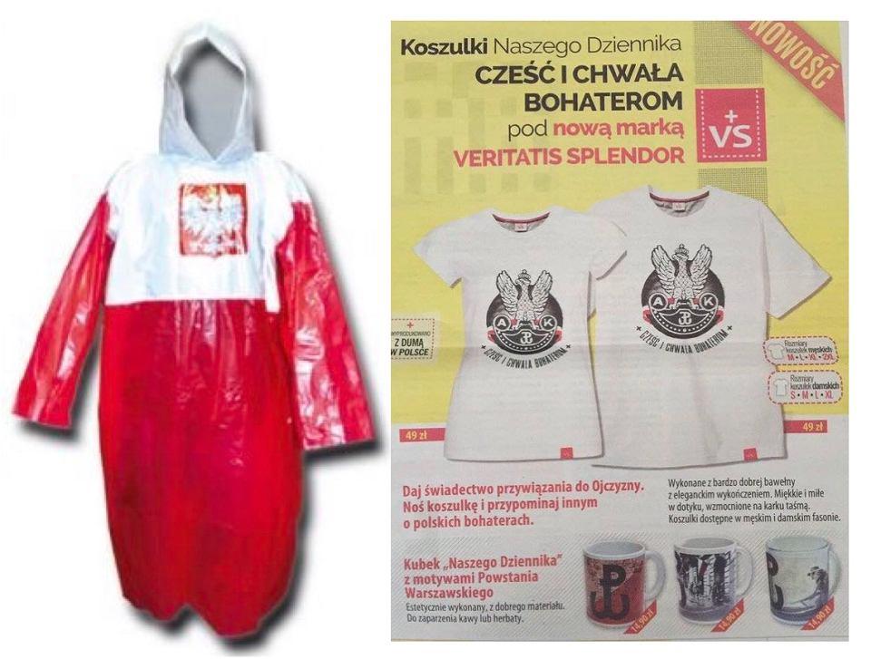Peleryna, którą nosił Jarosław Kaczyński
