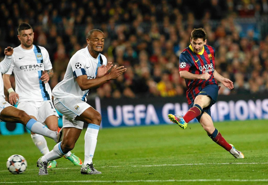 FC Barcelona - Manchester City 2:1