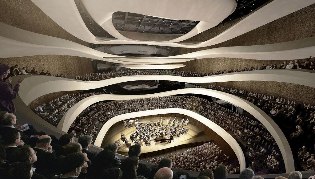 Sinfonia Varsovia / proj. Atelier Thomas Pucher