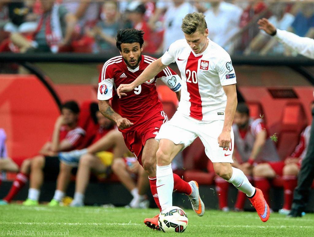 Polska - Gruzja 4:0. Łukasz Piszczek