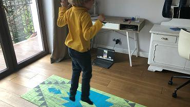 Lekcje wychowania fizycznego w klasie pierwszej