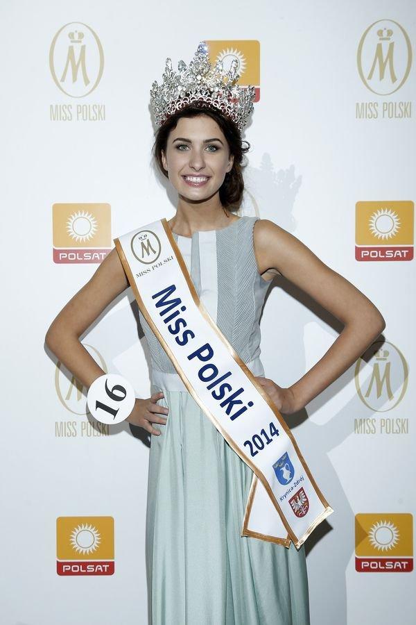 >25. fina konkursu Miss Polski, grudzie 2014, Ewa Mielnicka