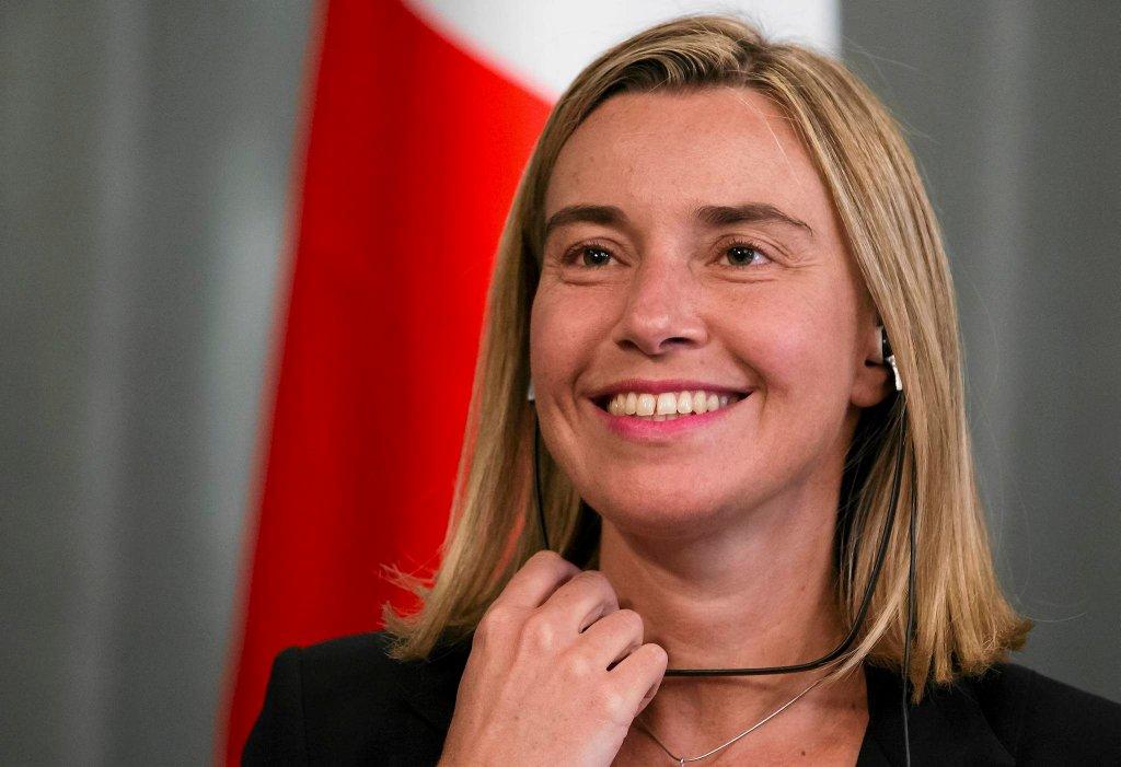 Federica Mogherini, szefowa włoskiej dyplomacji