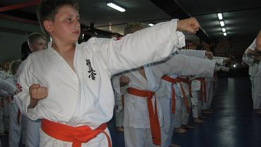 Egzaminy na wyższe stopnie w karate kyokushin w Dragon Fight Club Radom