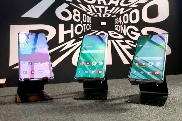 Samsung zaprezentował smartfony Galaxy S10, S10 Plus i S10e