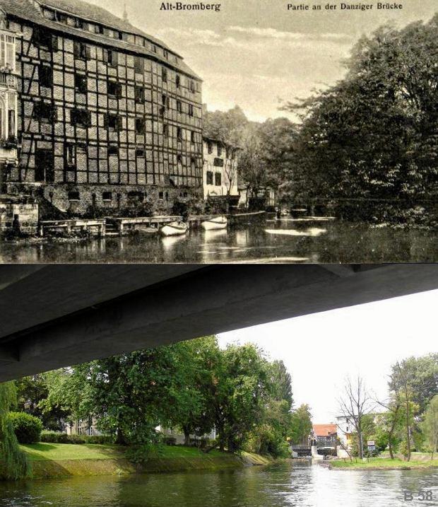Zdjęcie numer 22 w galerii - Bydgoszcz wczoraj i dziś. Te same miejsca sfotografowane po latach