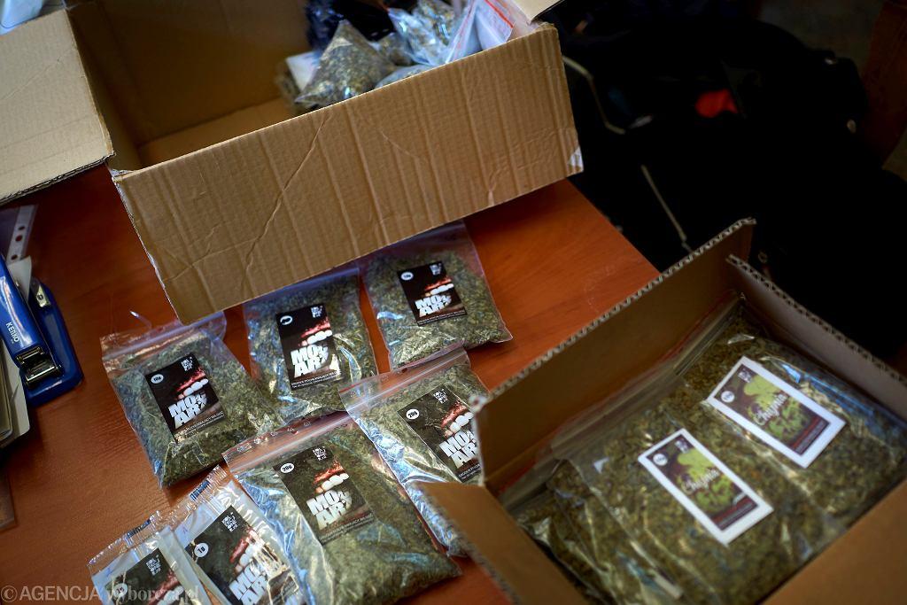 Dopalacze odnalezione w lipcu przez policjantów z Katowic