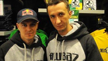 Jarosław Hampel i Grzegorz Walasek