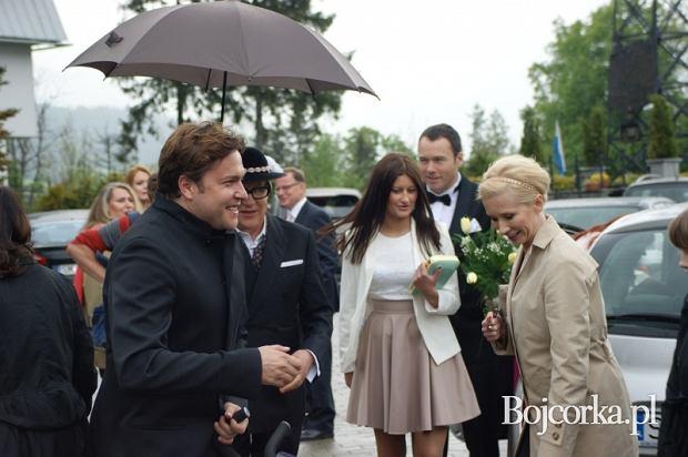 Ślub Anny Guzik