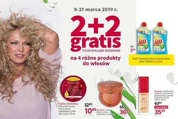Rossmann gazetka: kosmetyki i środki czystości