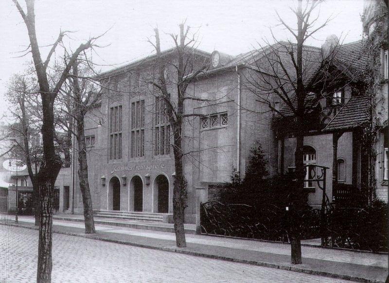 Kammerlichtspiele, czyli późniejsze kino Nysa, na przedwojennym zdjęciu