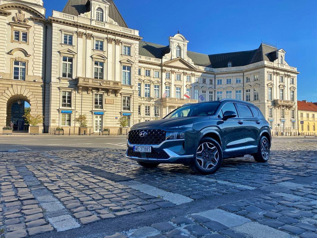 Hyundai Santa Fe 2021 plug in hybrid