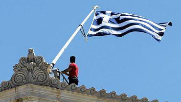 Budynek greckiego parlamentu w Atenach