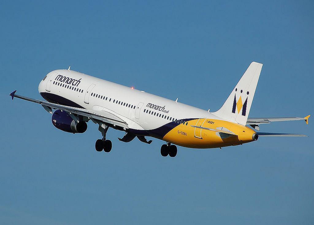 Samolot linii Monarch