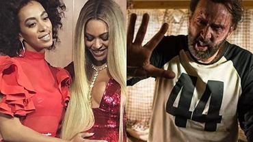 Beyonce, Solange, Nicolas Cage