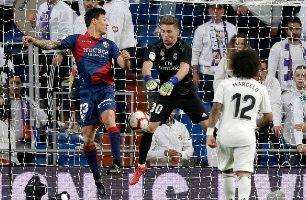 Luca Zidane po debiucie na Bernabeu: 'To było jak sen'