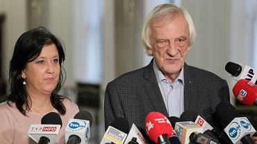 Ryszard Terlecki i rzecznika PiS, Anita Czerwińska