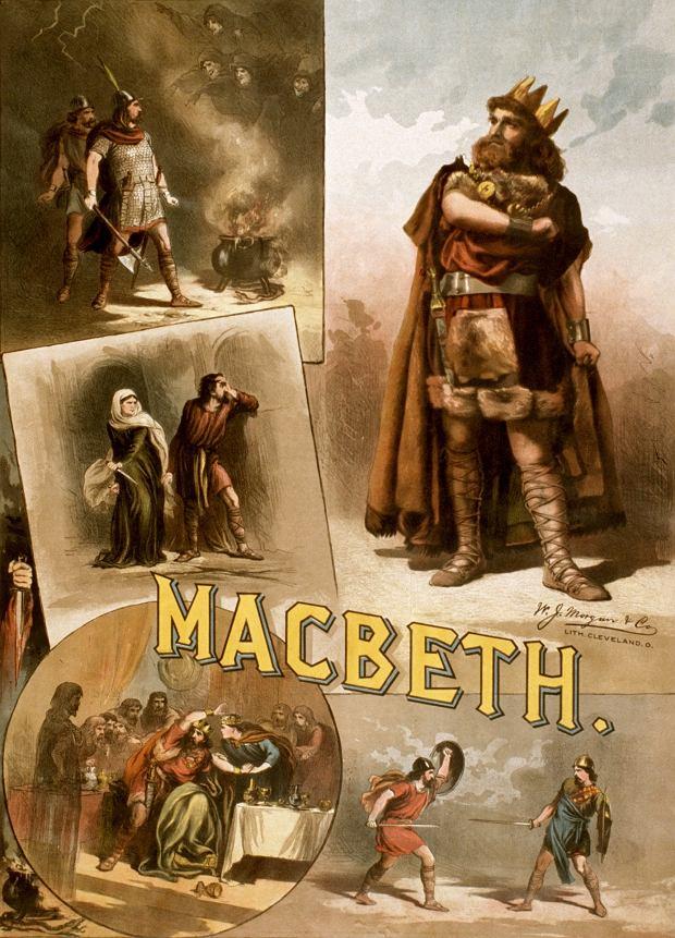 Charakterystyka Makbeta wskazuje na jego nieposkromioną ambicję. zdjęcie ilustracyjne