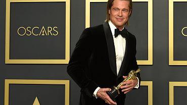 Oscary 2020. Brad Pitt z pierwszym aktorskim Oscarem za drugoplanową rolę w 'Pewnego razu w Hollywood'