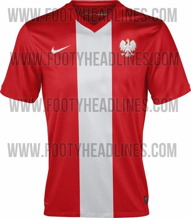 Projekt koszulki reprezentacji Polski