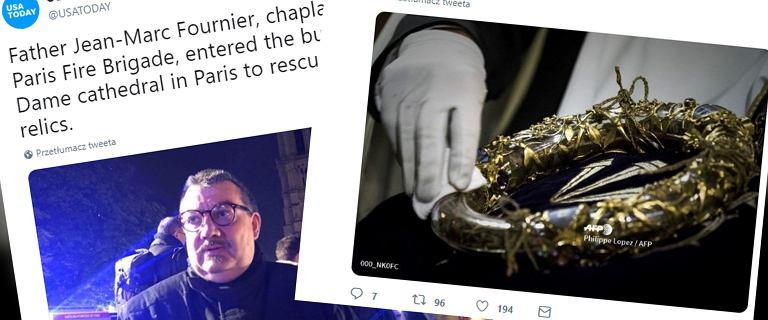 Czym są relikwie korony cierniowej, które uratowano z pożaru w Notre Dame?
