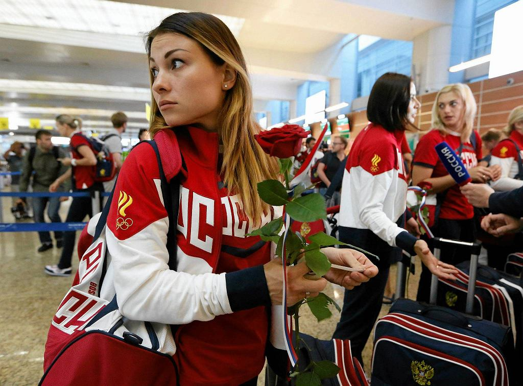 Rosyjski zespół piłkarek ręcznych w drodze do Rio