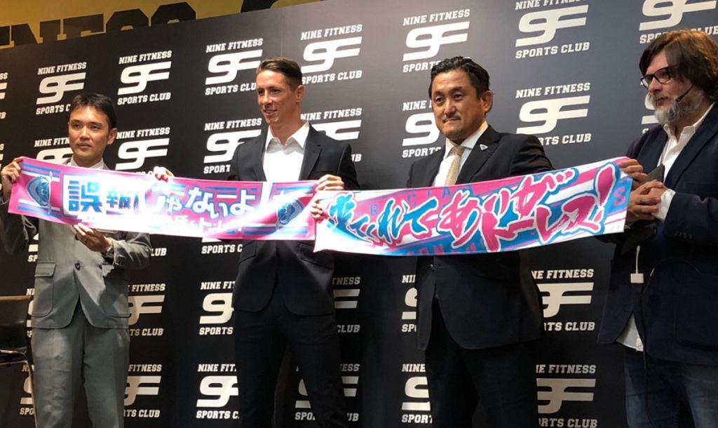 Fernando Torres zawodnikiem Sagan Tosu