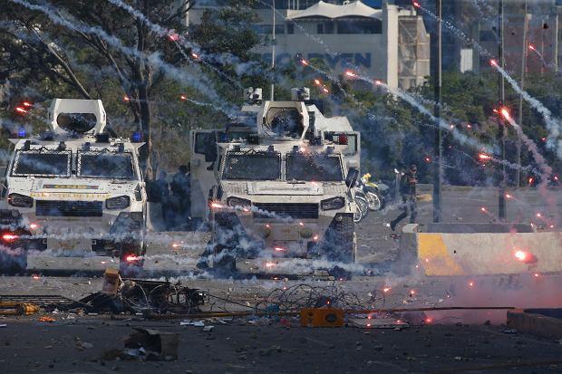 Zamieszki w Wenezueli