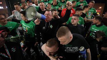 Wieczorna feta z okazji awansu Radomiaka do I ligi