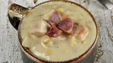 Chowder z kukurydzą (zupa)