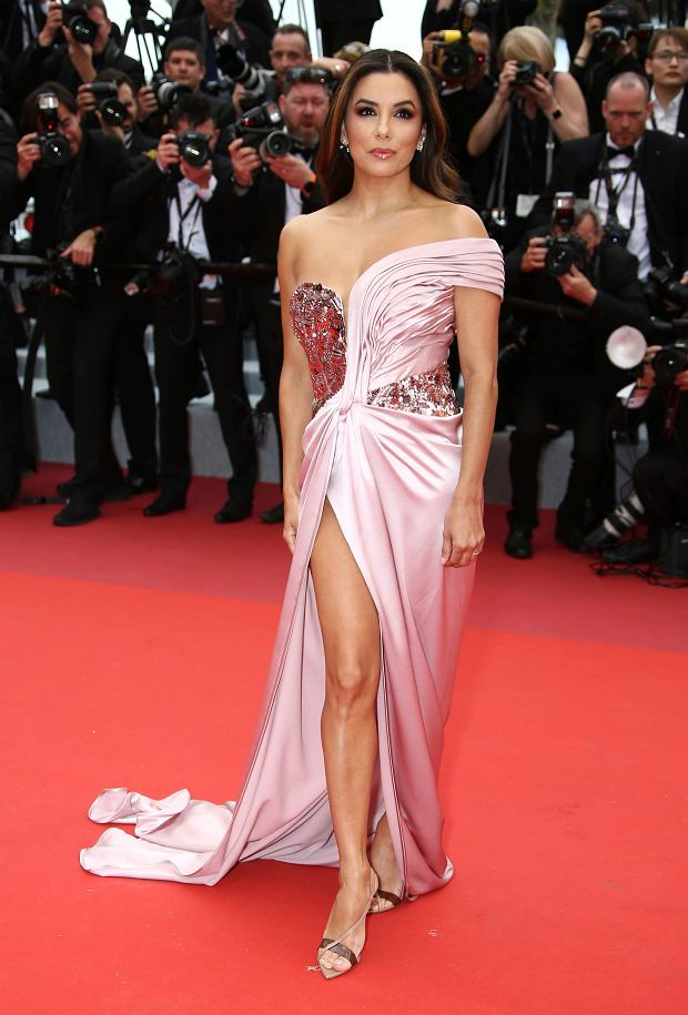 Actress Eva Longoria poses for photographers upon arrival at the opening ceremony and the premiere of the film 'The Dead Don't Die' at the 72nd international film festival, Cannes, southern France, Tuesday, May 14, 2019. (Photo by Joel C Ryan/Invision/AP)