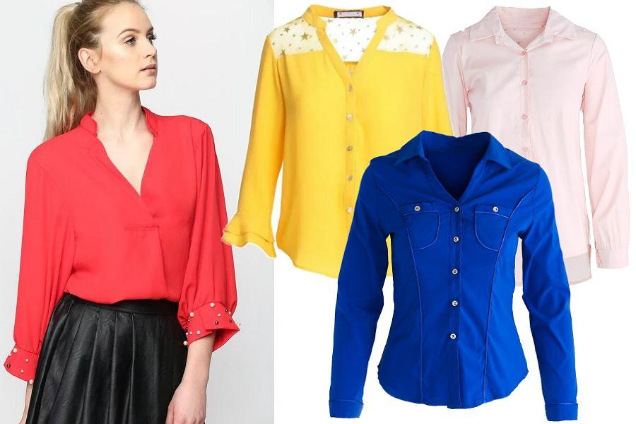Kolorowe koszule