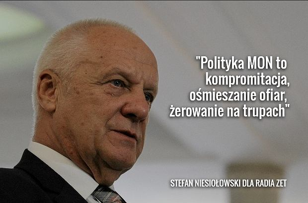 Stefan Niesiołowski dla Radia ZET