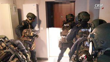 Zatrzymanie członków bandyckiej bojówki założonej przez kiboli Górnika Zabrze