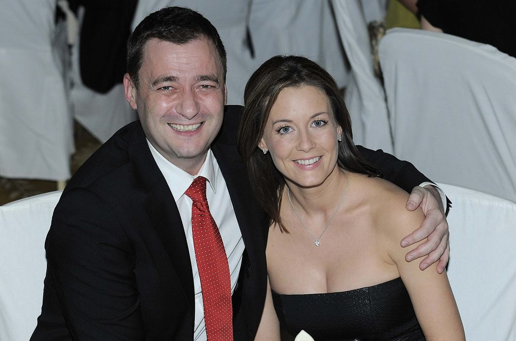 Jacek Rozenek i Małgorzata Rozenek-Majdan