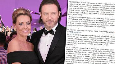 """Małgorzata Rozenek i Radosław Majdan występują w programie """"Azja Express"""""""