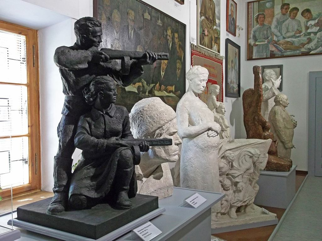 Galeria Sztuki Socrealizmu / Materiały prasowe Muzeum Zamoyskich w Kozłówce