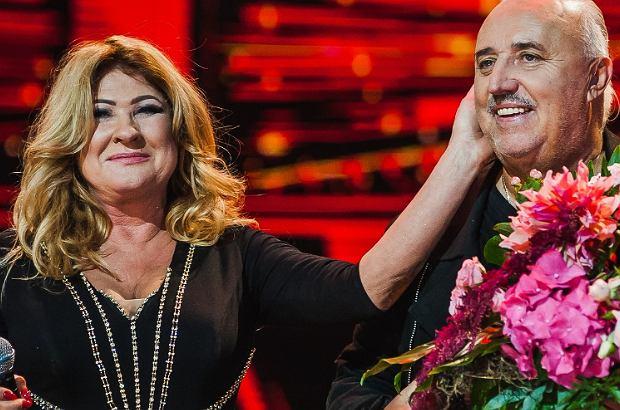 Beata Kozidrak i Andrzej Pietras