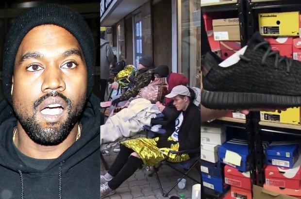 Buty Kanye Westa Ludzie Koczuja Przed Sklepem Dzien I Noc Szalenstwo Cena Tlumaczy Wszystko