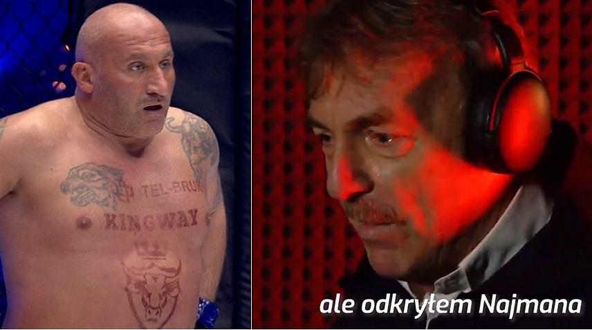 Marcin Najman odpowiedział na 'diss' Zbigniew Bońka. Zaskoczył swoją reakcją