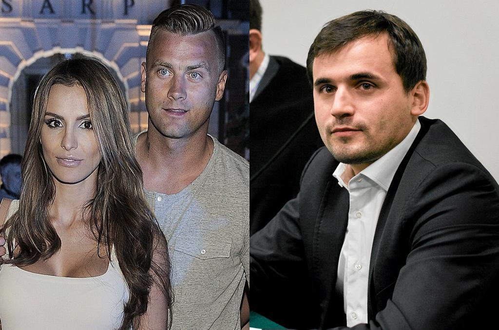 Sara Boruc, Artur Boruc, Marcin Dubieniecki