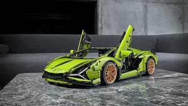 Lamborghini Sian FKP 37 z klocków LEGO