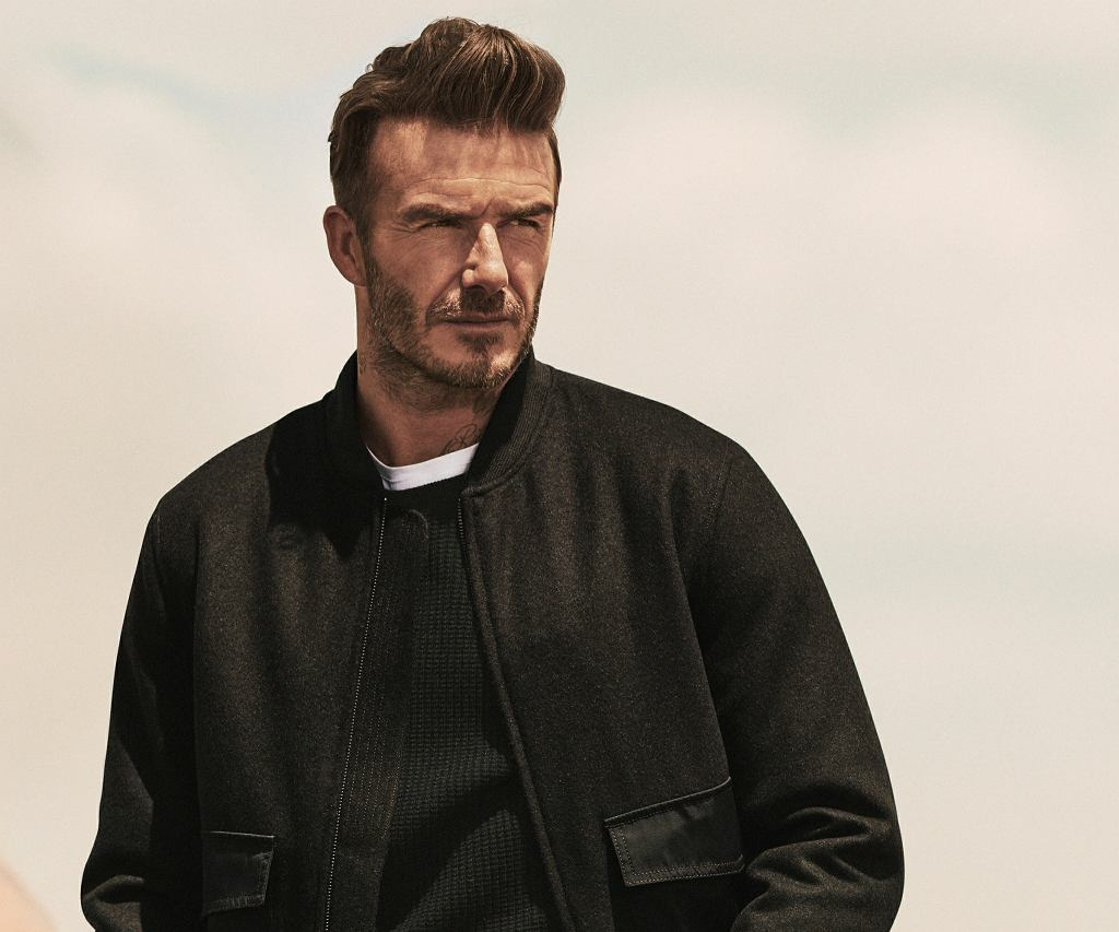 David Beckham i Modern Essentials