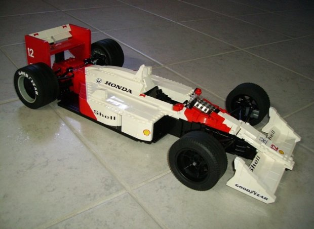 McLaren Honda Ayrtona Senny